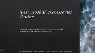 Buy Hookah Accessories Online at Arabian Nights
