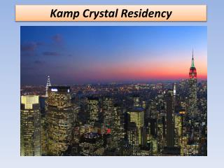 kamp Crystal Residency
