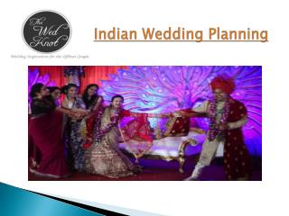 Indian Wedding Planning