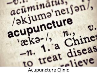 Acupuncture Clinics in UAE