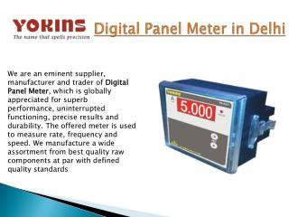 Digital Panel Meter in India