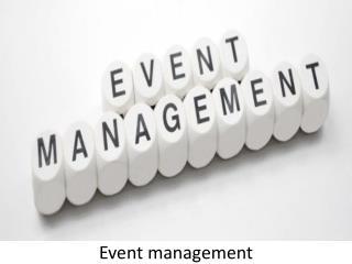 Event Management in UAE