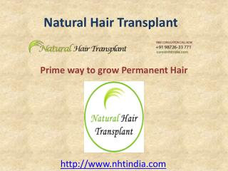 Hair Transplant in Delhi at Best Cost in India