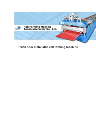 Used standing seam roll formers for sale