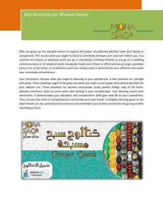 Buy Bracelets for Women Online
