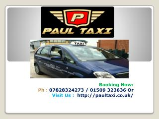 Hire Cheap Taxi in Loughborough