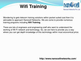Wifi Training