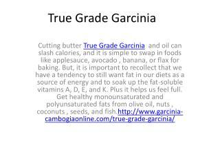 True Grade Garcinia  drink up to ten glasses of water