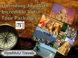 Unending Joy With Incredible India Tour Packages at FlywithAJ Travels