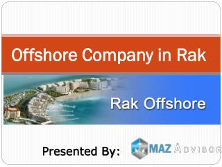 Offshore company in rak