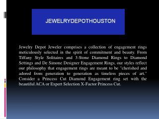 Custom Design Diamond Engagement Rings Houston