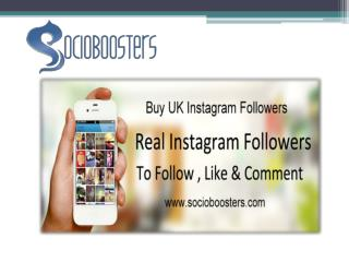 Buy UK Instagram followers