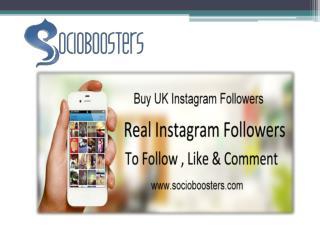 Buy UK Instagram followers