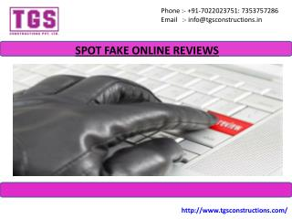 Ways To Detect Fake Online Reviews