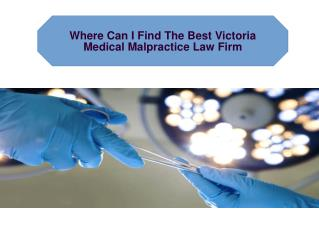Medical Malpractice Victoria
