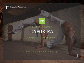 Capoeira Warszawa - FitPlanner.pl