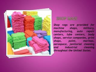 Shop Towels in Bulk