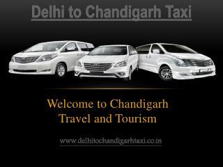 Delhi to Chandigarh Taxi | One Way Taxi Delhi-Chandigarh