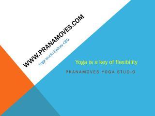 Yoga studio Sydney CBD