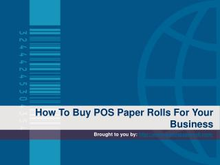 How To Buy POS Paper Rolls For Your Business