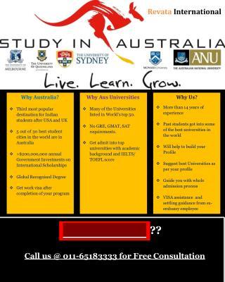 Best Study Abroad Consultants in Delhi for Australia