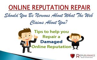 Repusurance - How to Repair Your Online  Reputation