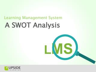 LMS SWOT Analysis