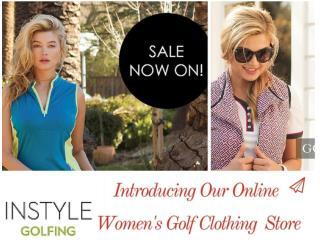 Women�s Golf Apparel