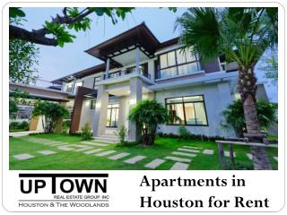 Apartments in Houston for Rent
