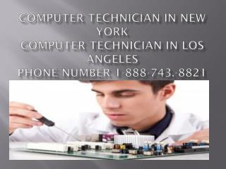 Computer 1-888-743-8821 Technician in Philadelphia