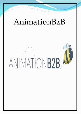 Animated Explainer Video | Animationb2b