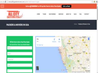 All City Packers and Movers in Goa - http://www.allcitypacke