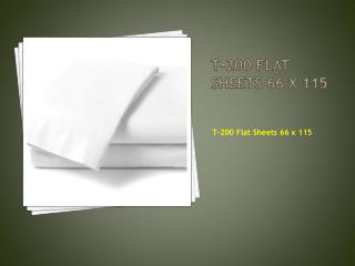 T-200 Stripe Sheets | Flat Sheets