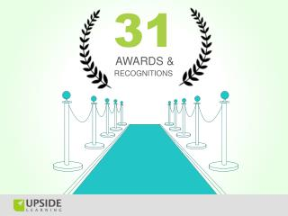 Awards Won By Upside Learning
