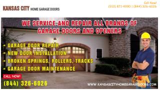 Garage Door Springs Repairs & Replacement in Kansas City, MO