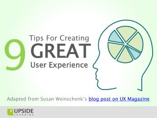 User Experience (UX) Design Tips