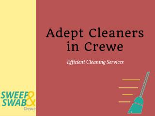 Sweep and Swab Crewe | 01942 562 029