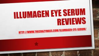 Illumagen Eye Serum :: Scam Or Not! Read Here