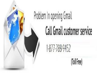 Gmail Customer Care Number 1-877-788-9452 (For Any Gmail  Help)