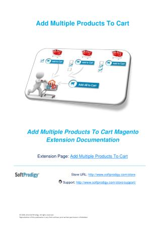 Add Multiple Products to Cart in Magento