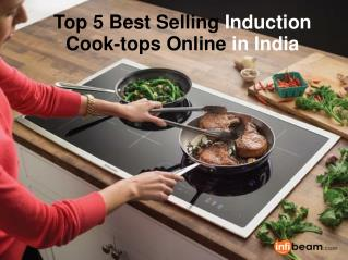 Top 5 Best Selling Induction Cooktops Online in India
