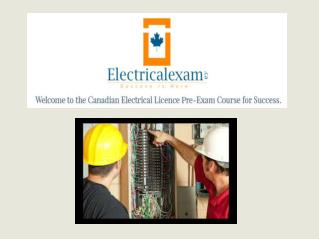 Electrical Exam Prep Courses Training Classes � Canada