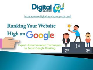 See The Benefits Of Ranking Highly In Google Today