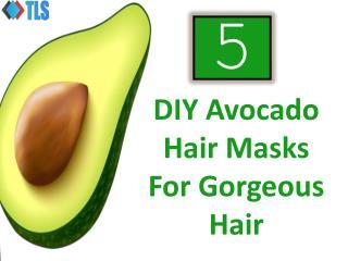 5 DIY Avocado Hair Masks For Gorgeous Hair