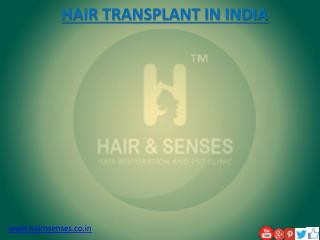 EYEBROW Hair transplant in India