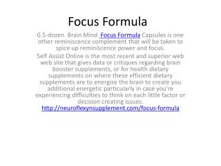 In  Focus Formula line with a researchers at Rush