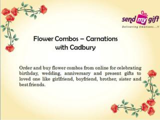Occasional Combos: Send Flowers with Chocolates Online Bangalore
