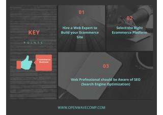 Key Points to Succeed in Ecommerce Business
