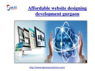 Affordable website designing development gurgaon