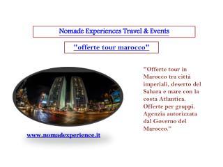 offerte tour marocco